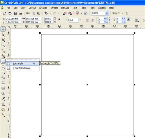 langkah membuat undangan dengan corel draw x5 membuat undangan motif kertas dengan coreldraw