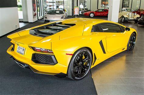 Lamborghini Aventador Dallas Used 2012 Lamborghini Aventador For Sale Richardson Tx