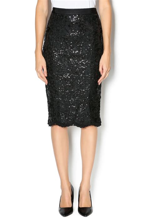 endless sequined pencil skirt from new york city by
