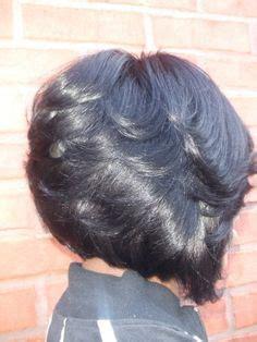 show me zig zags bob haircut short bob hairstyles for black women back view hair