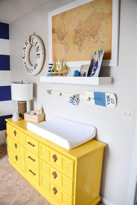 painted ikea nornas dresser baby pinterest guy rooms august s nautical nursery project nursery