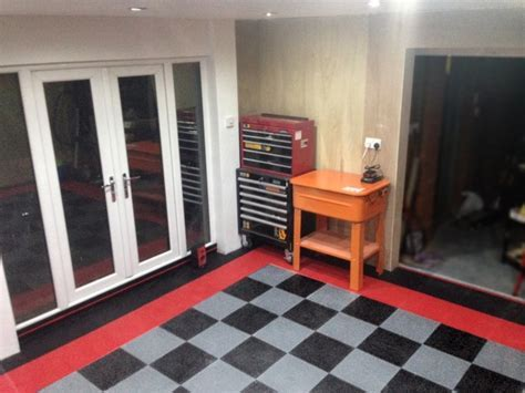 Garage Floor Makeover and Projects Gallery.