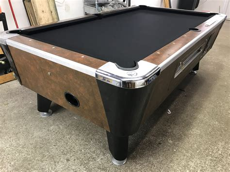 used coin operated pool table table 091317 used coin