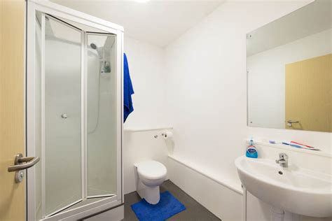 bathroom studios student accommodation in coventry mercia lodge
