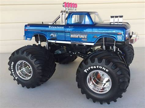 bigfoot remote truck bigfoot the original truck rc s