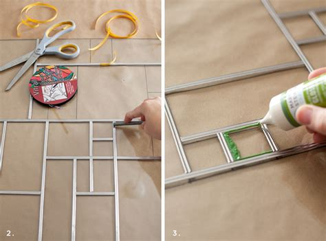 Best Way To Stain Kitchen Cabinets diy faux stained glass a beautiful mess