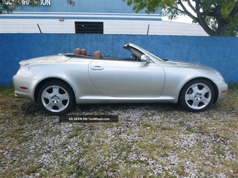 2002 Lexus Sc430 Base Convertible 2 Door 4 3l