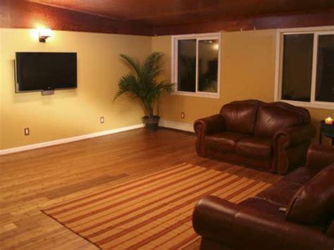 bamboo flooring basement install bamboo floors hgtv