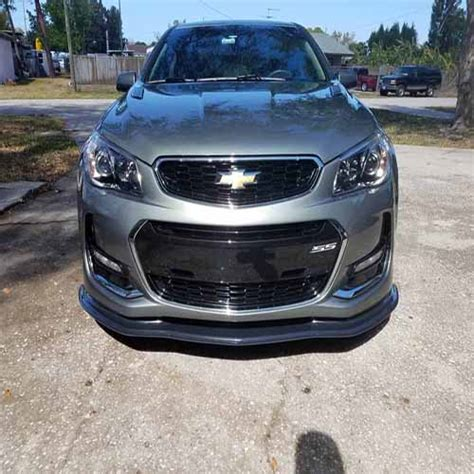 mobile attractions mobile attractions chevy ss molded front splitter v2 ssonly