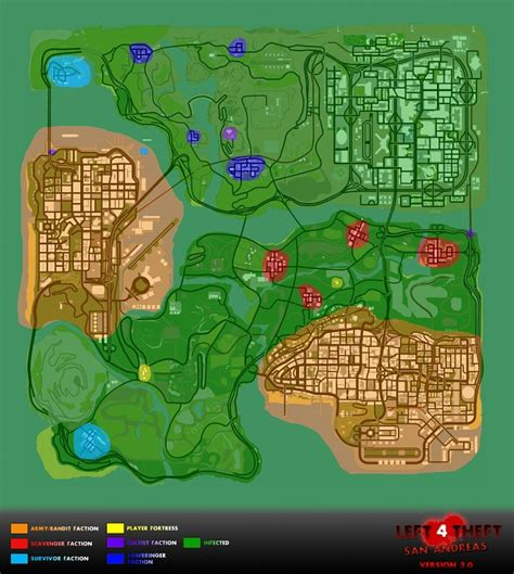san andreas map gta san andreas gangs map www pixshark images galleries with a bite
