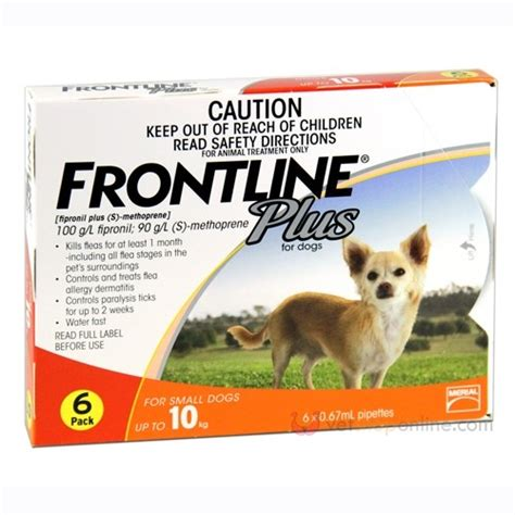 flea and tick treatment for puppies frontline plus flea tick treatment for dogs 10kg 6 pack ebay