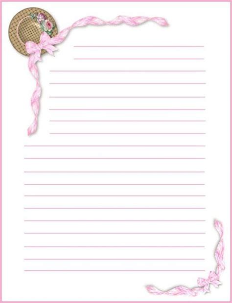 pretty letter writing paper 260 best pretty paper templates images on