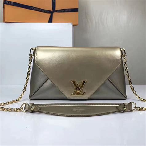 New Arrival Clutch Gucci Lv 288808 louis vuitton calf leather note gold m54500