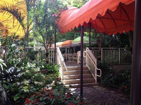 Garden Grove Cafe The Beautiful Peacock Garden Cafe In Coconut Grove Miami