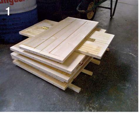 costruire una panchina di legno come costruire una palafitta in legno per bambini