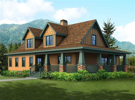 rugged home rugged craftsman house plan 92084vs 1st floor master suite country craftsman den office