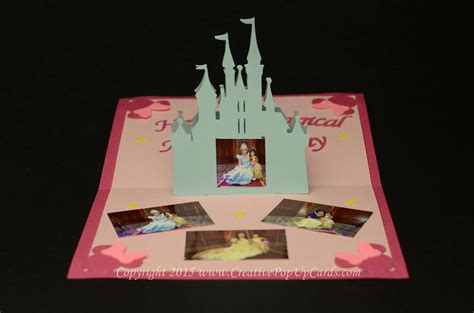 castle pop up card template castle pop up card template creative pop up cards