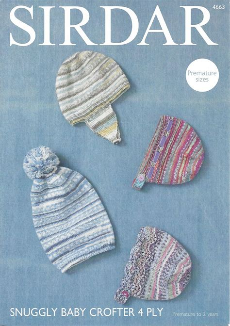 sirdar 4 ply baby knitting patterns sirdar snuggly baby crofter 4ply 4663 hat helmet and