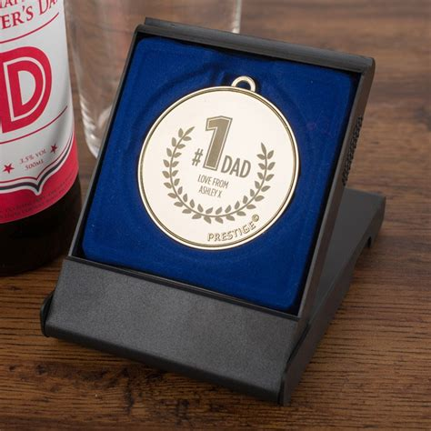number 1 gift personalised medal number 1 gifts for by