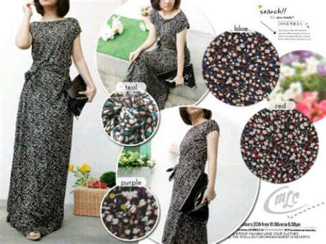 Dress Dress Bahan Kaos Dress Panjang Maxi Dress dress panjang polkadot i l o v e f a s h i o n s s page 2
