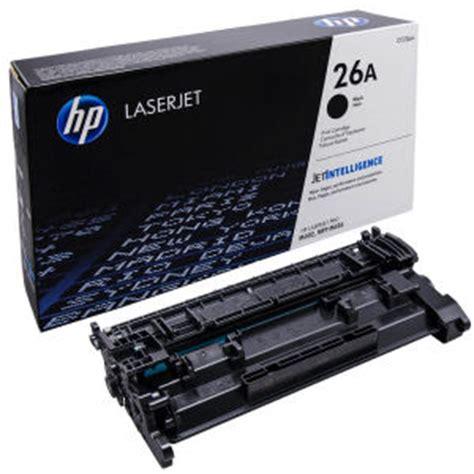hp cf226a black printer cartridge 26a toner