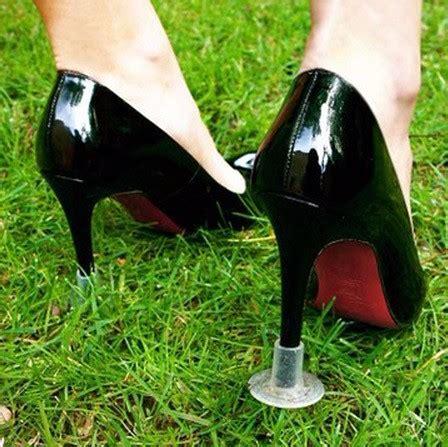 2pair Stiletto Heel Protectors, Wedding Grass High Heel