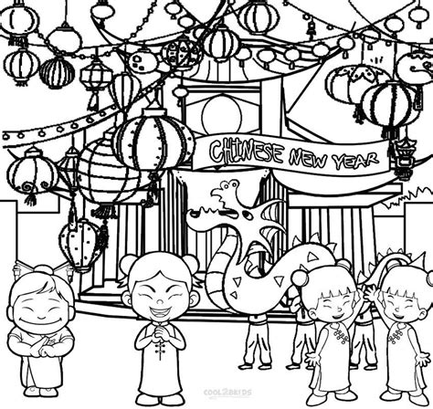 preschool coloring pages chinese new year chinese new year pages for kindergarten coloring pages