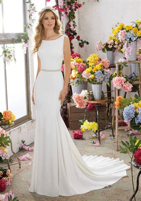 Plain Wedding Dresses by Simple Wedding Dress Morilee Wedding Dress Plain Wedding