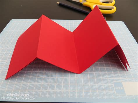 Paper Folding Cutting - paper cut tulip flower border et speaks from home