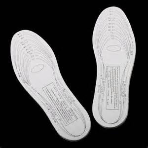insole template memory foam shoe insole anti arthritis as seen on tv