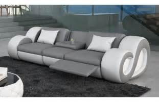 3 sitzer und 2 sitzer sofa sofas ledersofa 3 sitzer sofa nesta mit beleuchtung