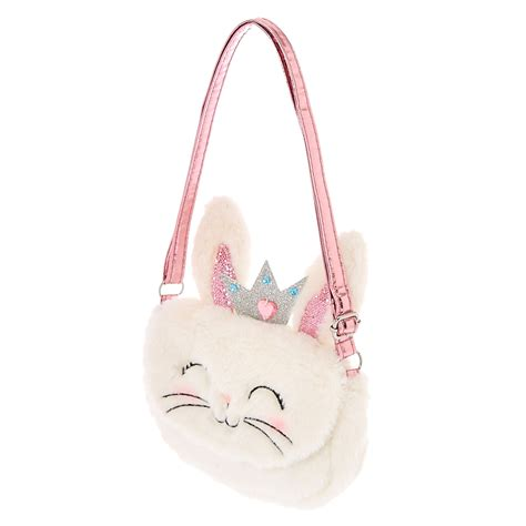 Rabbit Cross Bag plush bunny crossbody bag s us