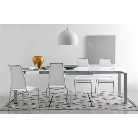 tavolo airport calligaris connubia calligaris airport modern extendable dining table