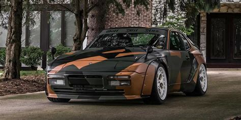 widebody porsche 944 1989 porsche 944 turbo modified widebody deadclutch