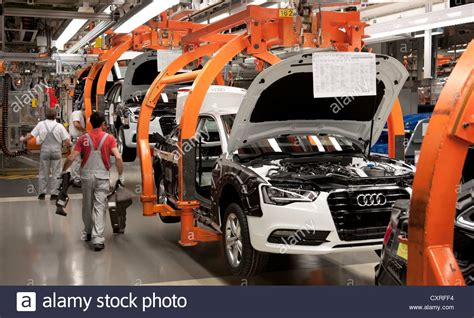 audi factory production line for the audi a4 sedan audi plant