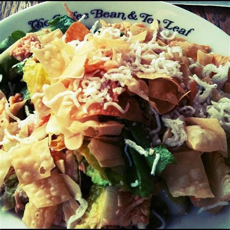 Salad Coffee Bean the coffee bean and tea leaf menu alabang muntinlupa