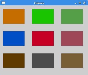 qbrush pattern color painting in qt5
