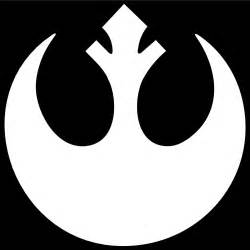 star wars rebel logo vinyl decal sticker color