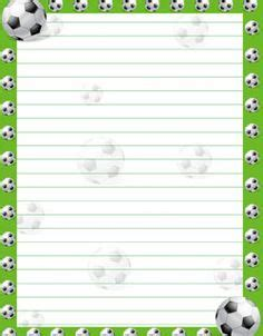 printable soccer stationery free printable stationery paper soccer from