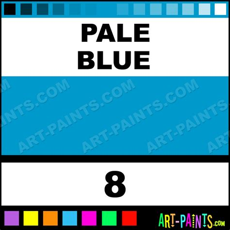 pale blue paint pale blue basic liners fabric textile paints 8 pale
