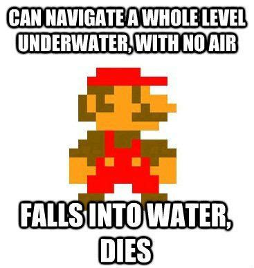 Funny Mario Memes - scumbag mario meme collection