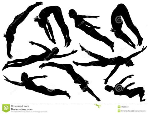 The gallery for   > Swimmer Silhouette Free Vector