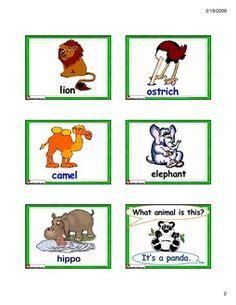 free printable zoo animals flashcards farm animal flash cards printable science pinterest