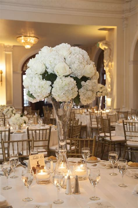 274 best images about CENTERPIECES White, Ivory & Cream on
