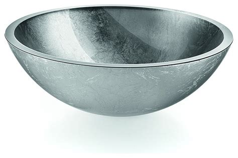 round sink bowl lb round glass vessel sink bowl contemporary bathroom