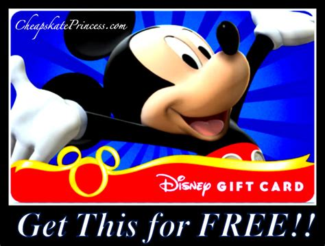 Disney On Ice Gift Card - ice cream mickey mouse hats and gift cards get these free for your next disney