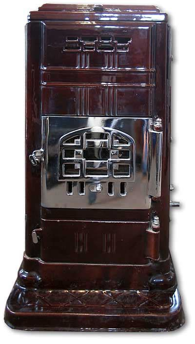 Front Door Ciney French Art Deco Stove Twentieth Century Fireplaces