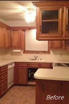 Kitchen Cabinets Amarillo Tx by Remodeling An Outdated Kitchen In Amarillo