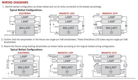 8 ft fluorescent light fixture wiring diagram wiring