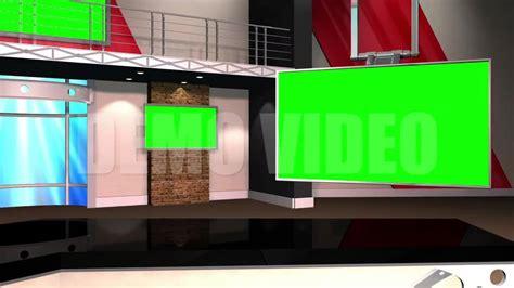 studio templates right angle news studio background template